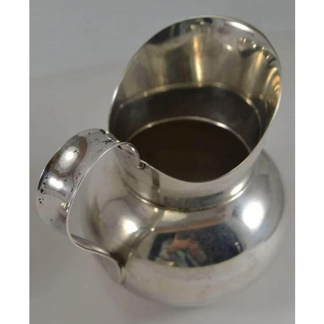 Mid 20th Century Gorham Sterling Silver Mid Century Modern Sugar & Creamer 772 773 For Sale - Image 5 of 10