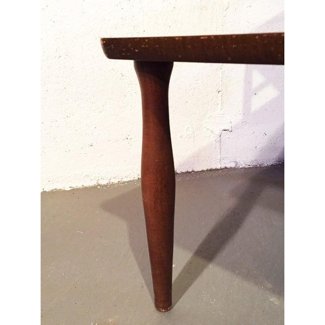 Danish Modern Vintage Viko Baumritter Step Table - Image 3 of 7
