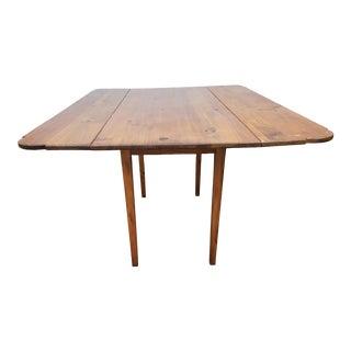 Vintage Drop Leaf Dining Table by Habersham For Sale