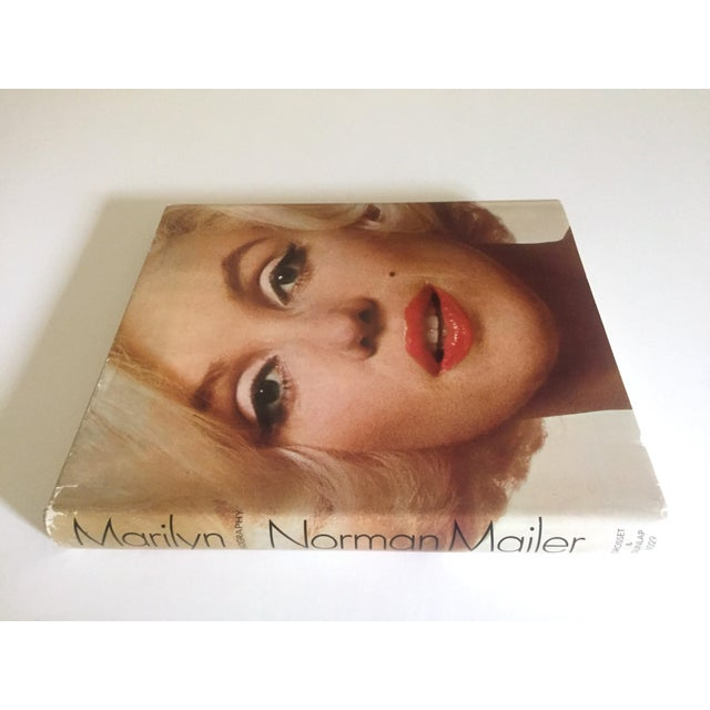 "This "" Marilyn Biography "" Norman Mailer vintage 1973 rare first edition iconic collector's photography book is a very..."