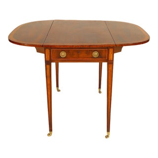 English Sheraton Style '18th Century' Pembroke Table For Sale