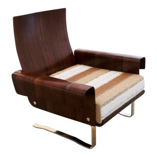 Mid-Century Cantilever Lounge Chair For Sale