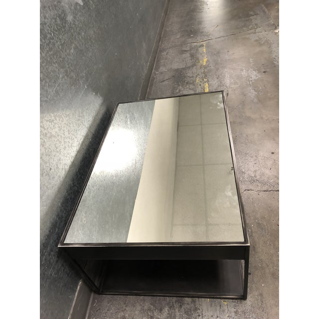 2010s Restoration Hardware Gramercy Narrow Coffee Table With Drawers For Sale - Image 5 of 10