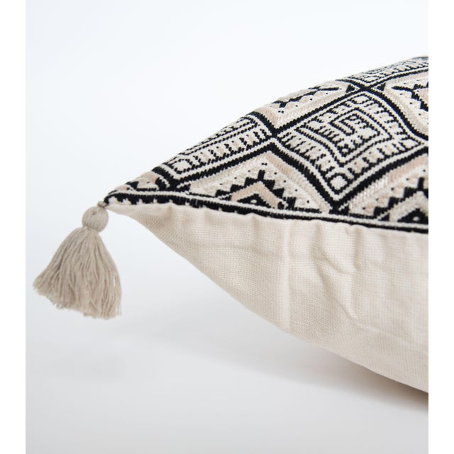 Guatemalan Black Pillow - Image 2 of 3