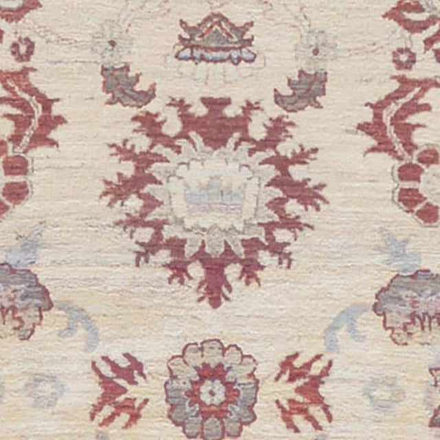 MANSOUR Handwoven Persian Sultanabad Rug For Sale - Image 4 of 5