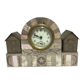 Antique Art Deco German Clock For Sale