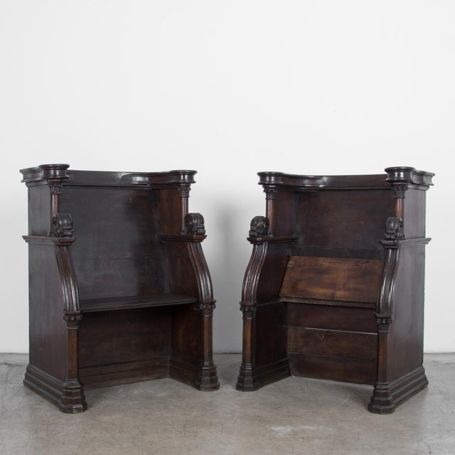 French Provincial 19th Century French Choir Stalls - a Pair For Sale - Image 3 of 13