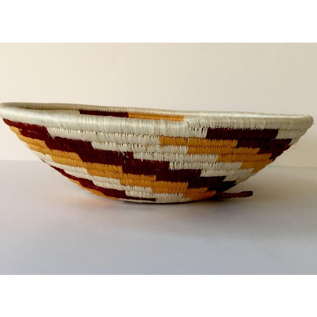 African Woven Basket - Image 3 of 7