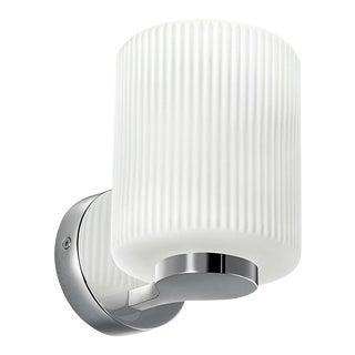 Polished Chrome Bathroom Wall Light For Sale