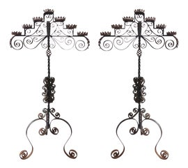 Image of Gothic Candle Holders