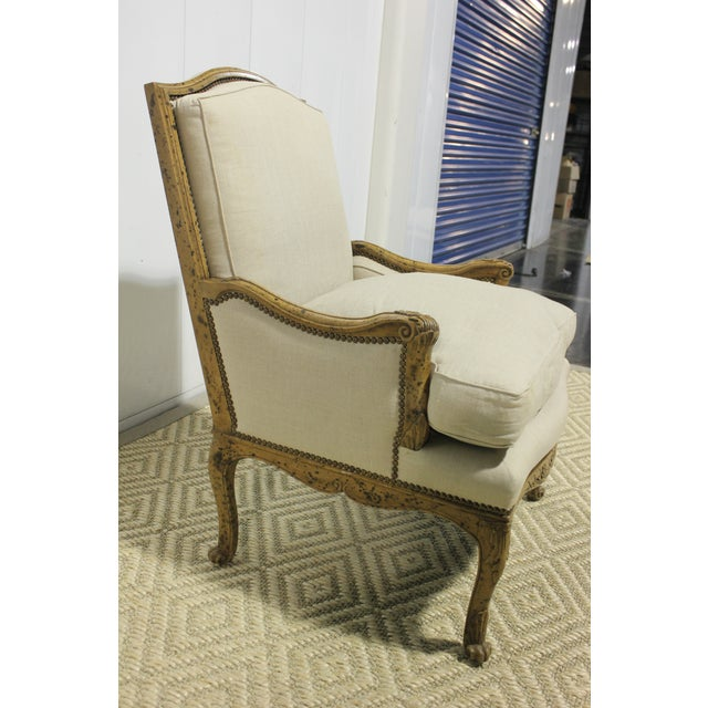 Early 20th Century Vintage Yale R. Burge Arm Chair For Sale - Image 4 of 8