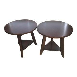 Restoration Hardware Taylor Cricket Tables - A Pair