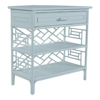 Chippendale End Table - Blue For Sale