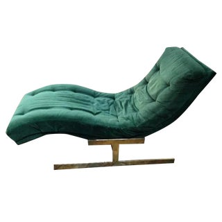 Milo Baughman Wave Chaise