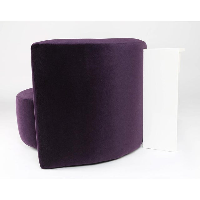 Fabric MILO BAUGHMAN CHAIRS AND INTEGRATED CONSOLE, CIRCA 1970 For Sale - Image 7 of 10