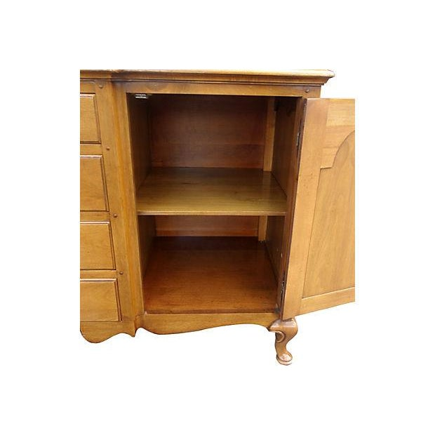 Pennsylvania Dutch Breakfront Cabinet For Sale - Image 5 of 7