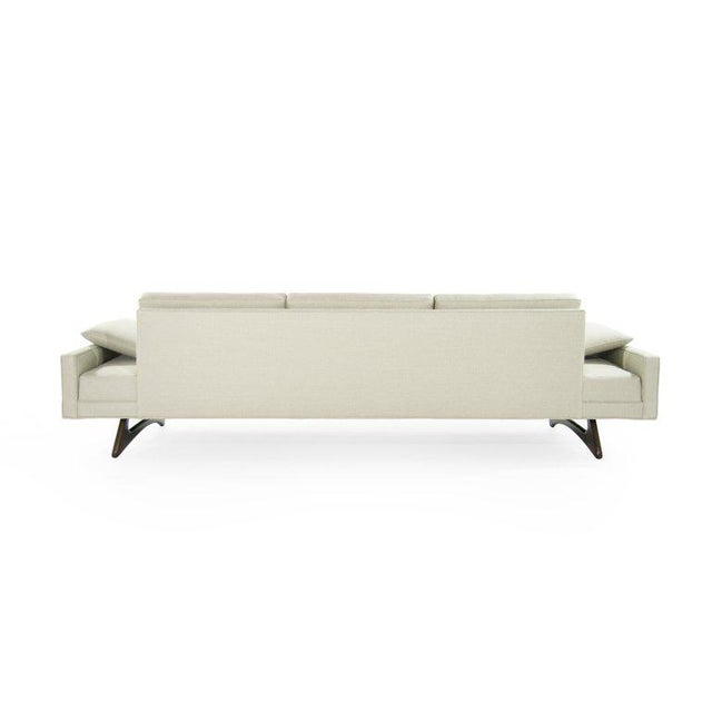 Adrian Pearsall for Craft Associates Model 2408 Sofa For Sale In New York - Image 6 of 12