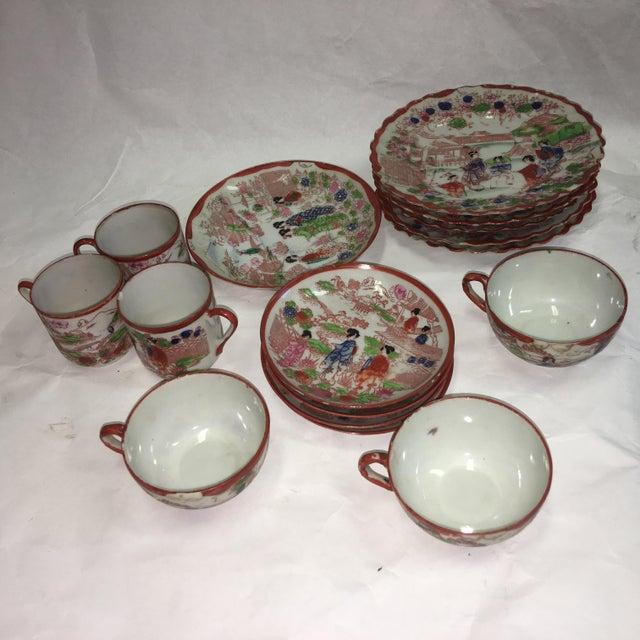 Japanese Porcelain Tea Set - Set of 22 - Image 5 of 10