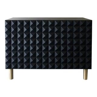 Sabin Rexford Oak & Brass Cabinet