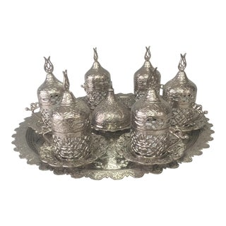 Turkish Coffee Service Set For Sale