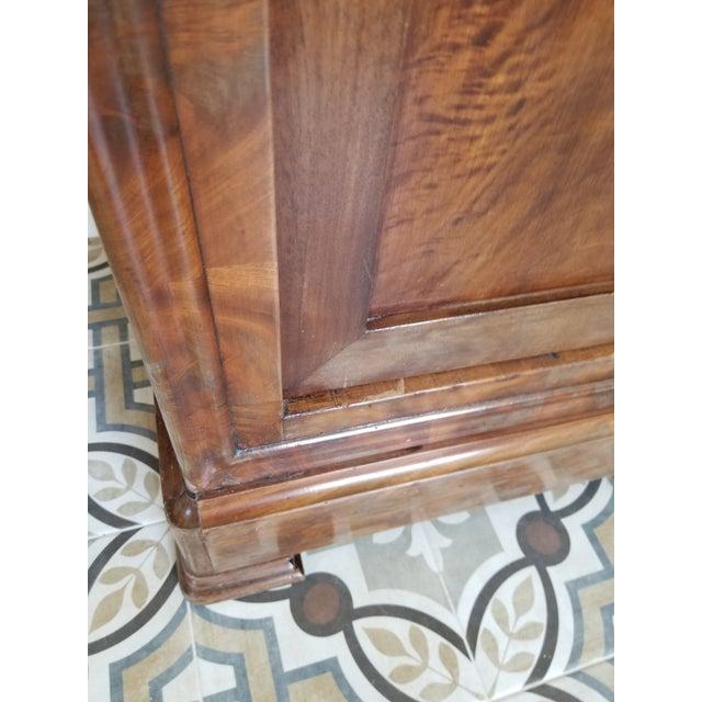Louis Phillippe Bookcase Vitrine For Sale In San Antonio - Image 6 of 12