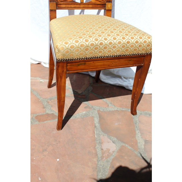 Neoclassical Russian Neoclassical Side Chair For Sale - Image 3 of 7