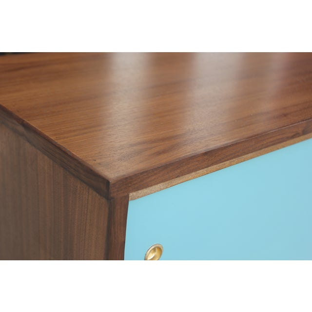 Mid-Century Style Two Door Credenza For Sale - Image 10 of 10