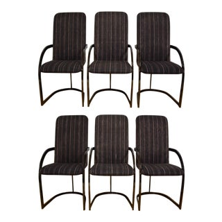 DIA Metallic Dining Chairs - Set of 6 For Sale