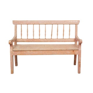 19th Century German Country Bench For Sale