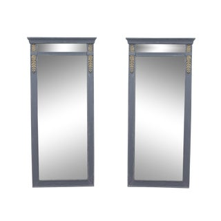 Imperial Style Mirrors - A Pair For Sale