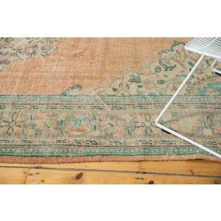 "Vintage Distressed Oushak Carpet - 7'2"" X 10'2"" Preview"