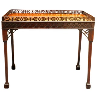 Mid 18th Century Antique Geroge III Tea Table For Sale