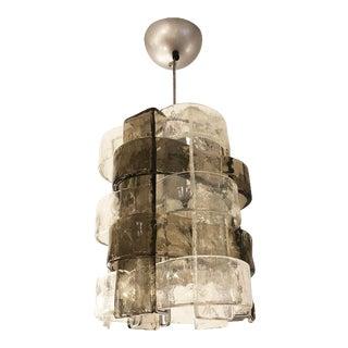 1950s Mazzega Murano Glass Pendant For Sale