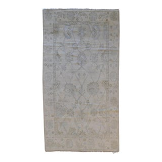 """Traditional Hand-Knotted Oushak Rug - 5'3"""" x 9'9"""""""