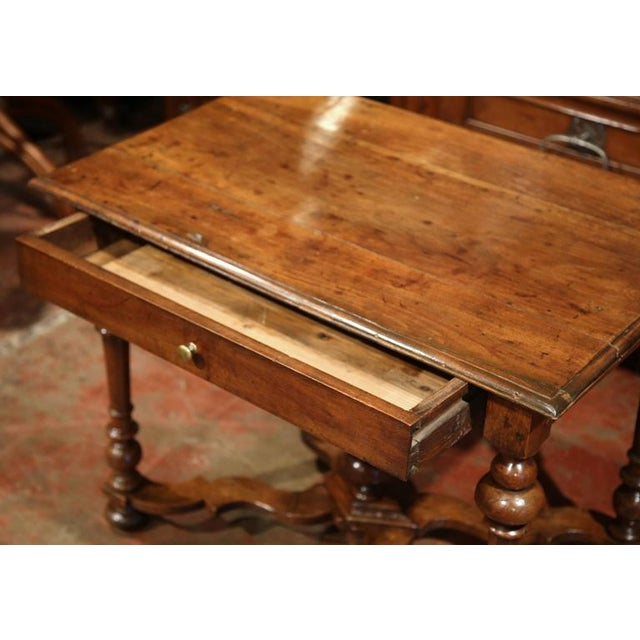 Late 18th Century French Walnut Side Table For Sale - Image 5 of 10