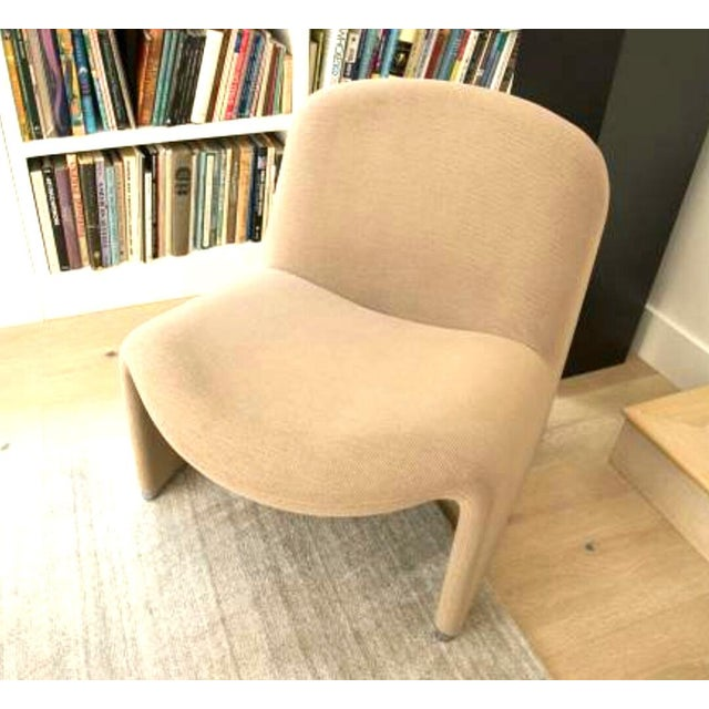 Tan 1970s Vintage Giancarlo Piretti for Castelli Italian Alky Chair For Sale - Image 8 of 9