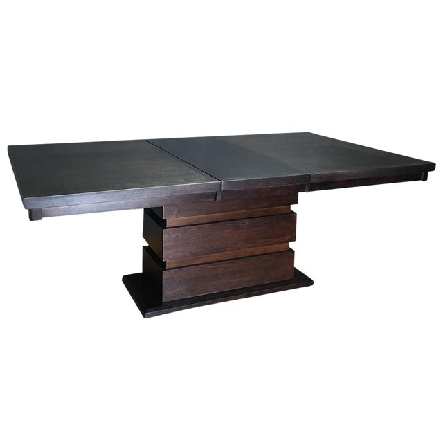 Tanager Expandable Dining Table in Espresso - Image 1 of 8