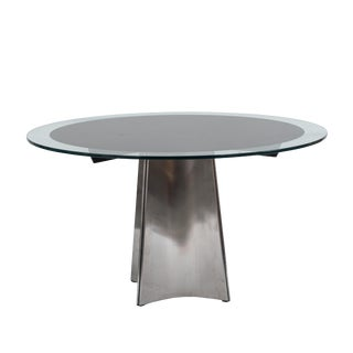 French 1970s Postwar Design Centre / Dining Table For Sale