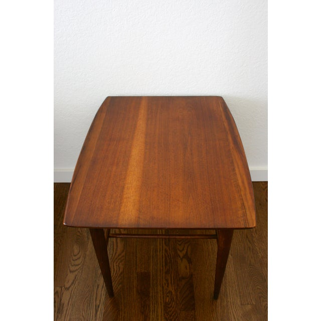 1960s Danish Modern Bassett Surfboard End Tables - a Pair For Sale In Seattle - Image 6 of 12