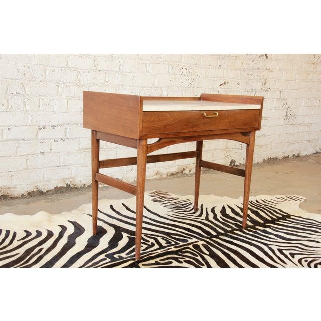 Merton Gershun Mid-Century Modern Desk - Image 4 of 11