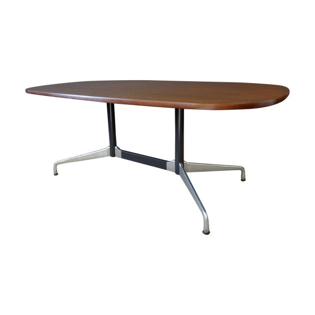 Eames for Herman Miller Large Oval Table - Image 1 of 7