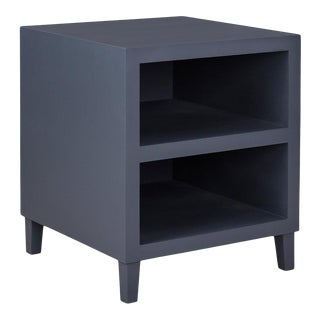 Elza End Table in Dark Gray For Sale