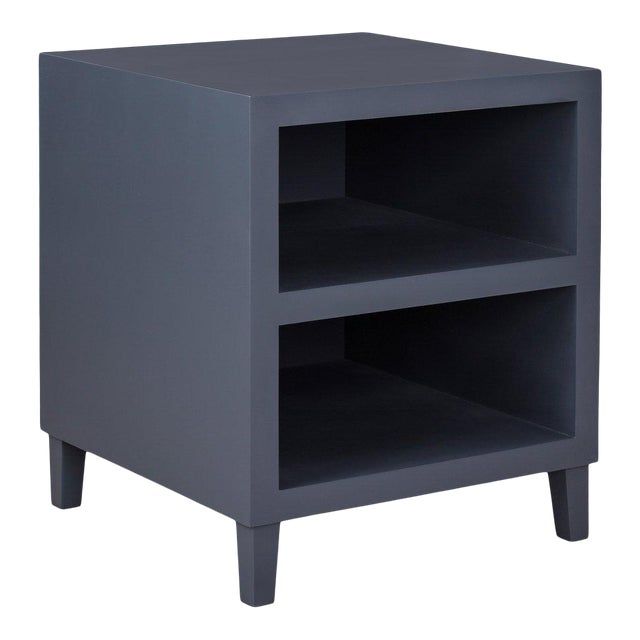 Elza End Table in Dark Gray For Sale