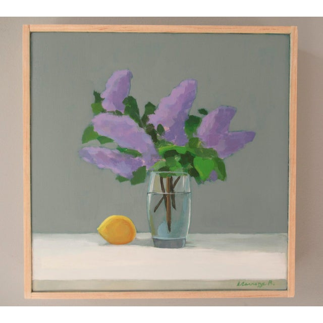 Anne Carrozza Remick Lilac and Lemon by Anne Carrozza Remick For Sale - Image 4 of 6