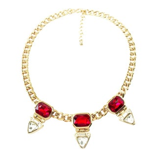 Modernist Statement Choker by Kenneth Jay Lane For Sale