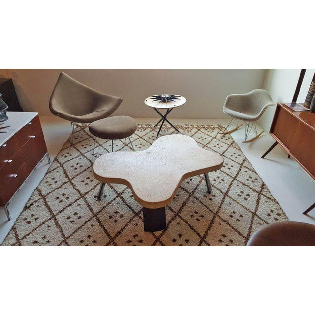 Paul Frankl Cork Top Amoeba Coffee Table for Johnson Furniture For Sale - Image 9 of 10