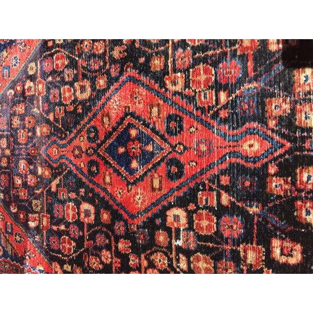 Early 20th Century Small Turkish Hand-Knotted Rug For Sale - Image 5 of 8