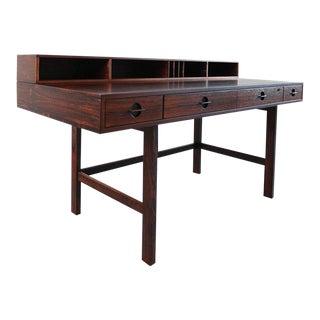 Peter Løvig Nielsen/Jens Quistgaard Flip Top Desk in Rosewood, Denmark, 1966
