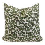 "Image of Cowtan & Tout ""Panther"" in Leaf 22"" Pillows-A Pair For Sale"