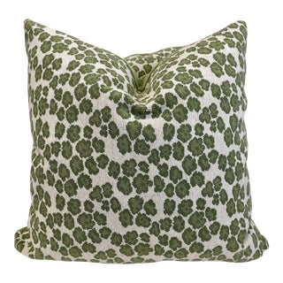 "Cowtan & Tout ""Panther"" in Leaf 22"" Pillows-A Pair For Sale"